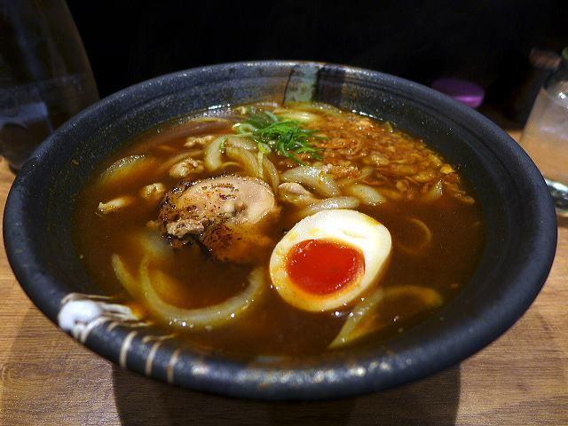 カレーお出汁らーめん 宮麺@01カレーお出汁らーめん 1