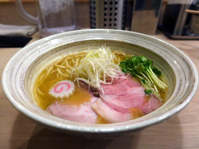MENYA BIBIRI@01魚介鶏そば(醤油) 1
