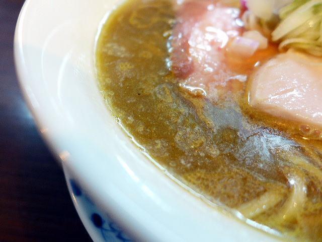 らぁ麺 紫陽花@02鶏油煮干しらぁ麺 2