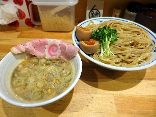 つけ麺専門 サバ6製麺所 plus 天六店@01サバ濃厚鶏つけ麺 1