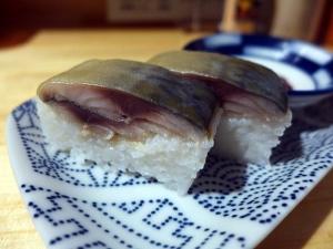 サバ6製麺所 本店@01サバ醤油そば+サバ寿司 4