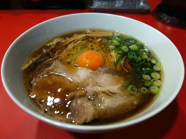 西梅田 らんぷ@03醤油ラーメン チキン 1