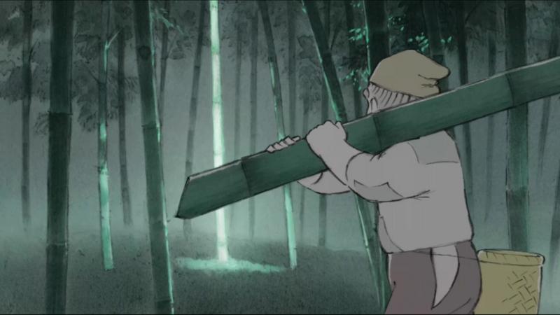 かぐや姫で竹が光ってたのって何の能力なの?