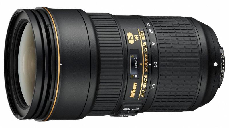 ニコン:AF-S NIKKOR 24-70mm f/2.8E ED VR