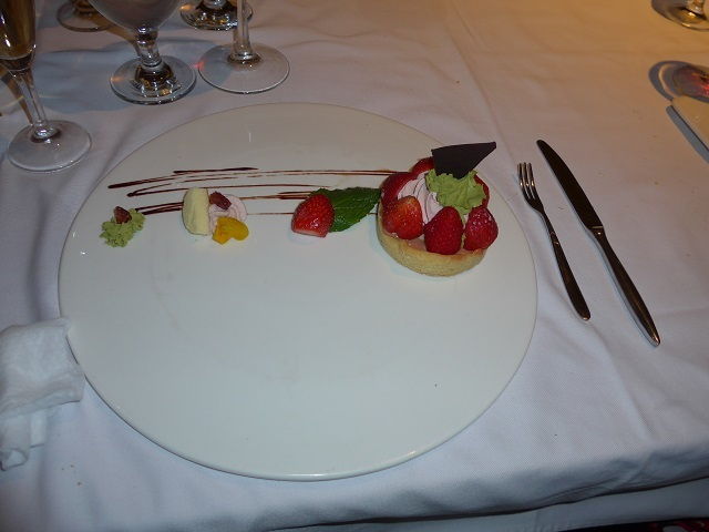 デザートIMイチゴの