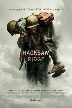 メル・ギブソン 『ハクソー・リッジ』 アメリカ版のポスター。