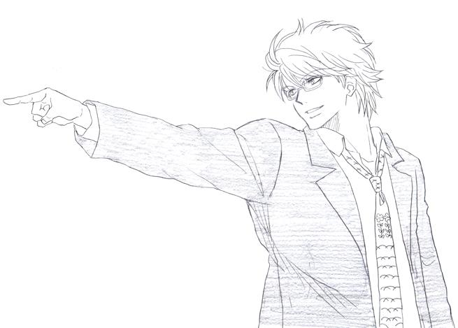 坂田弁護士 銀さん 銀魂