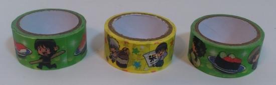 銀魂×くら寿司マスキングテープ