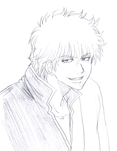 坂田銀時 銀魂 だが決着つけるってんなら俺が先だろ兄ちゃん