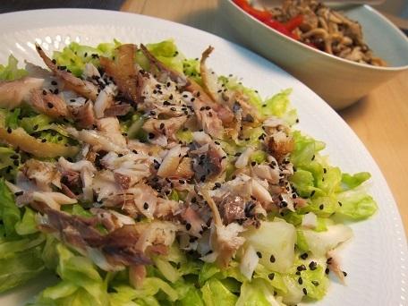 干物サラダ