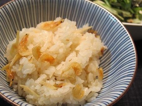 えびと生姜の炊き込みごはん