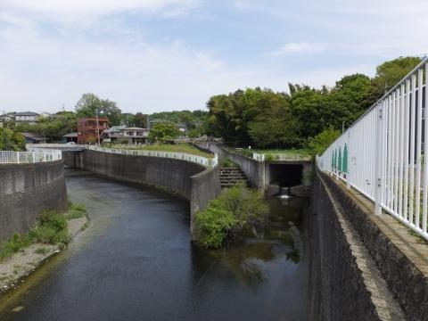 鳩川分水路