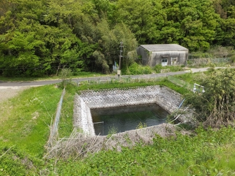 神奈川県内水面種苗生産施設