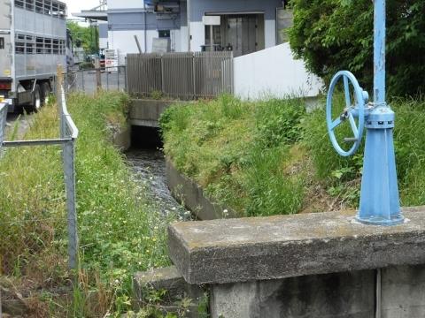 昭和用水田村支川分水ゲート