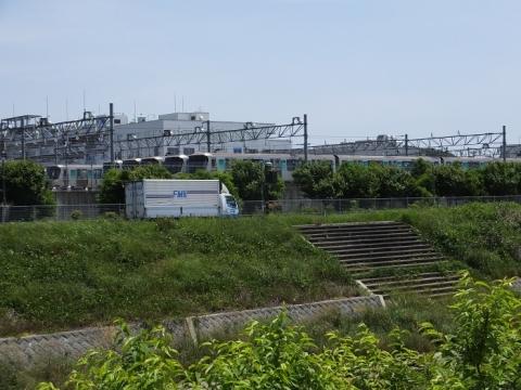 横浜市営地下鉄川和車両基地