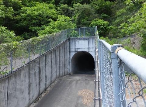 嘯治水トンネル吐口