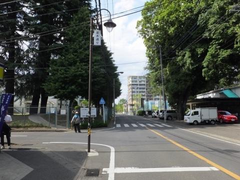 陸軍兵器学校正門跡付近
