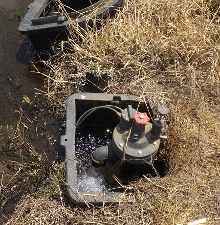 パイプライン用水路の給水栓