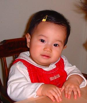 郁香生後9ヶ月