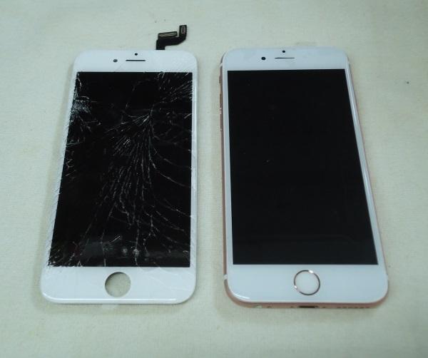 iPhone6sフロントパネル