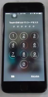 iPhone6画面割れ2