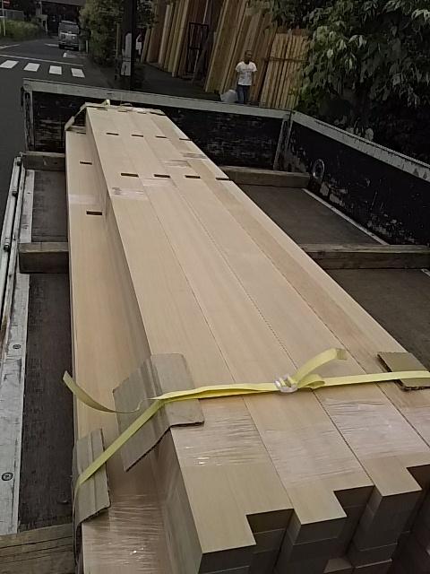 階段加工材