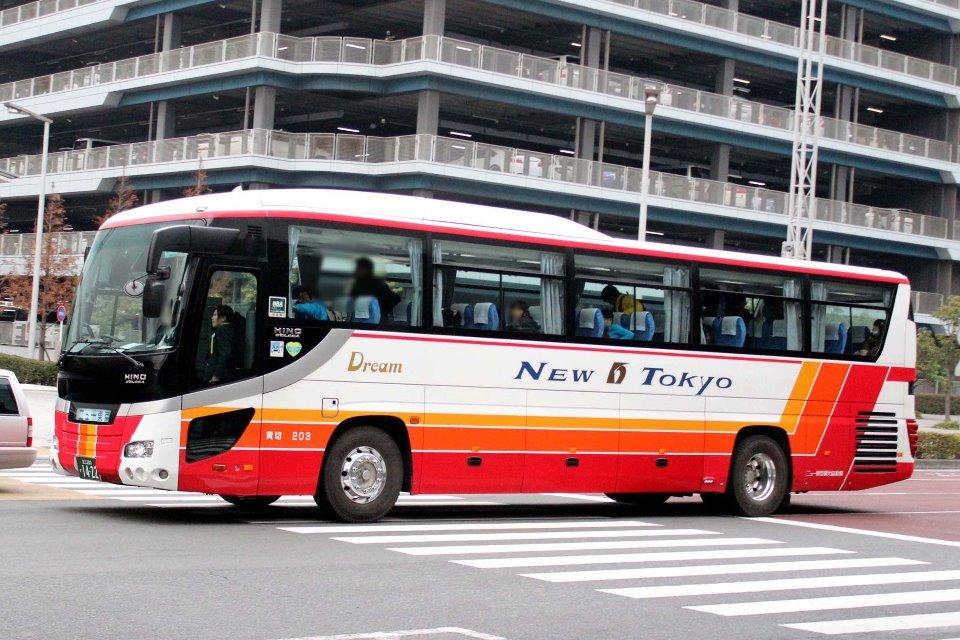 ニュー東京観光自動車 203