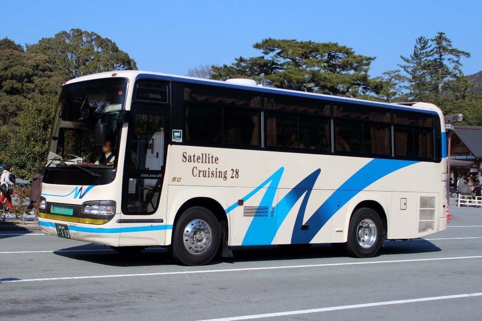 長良観光バス か113