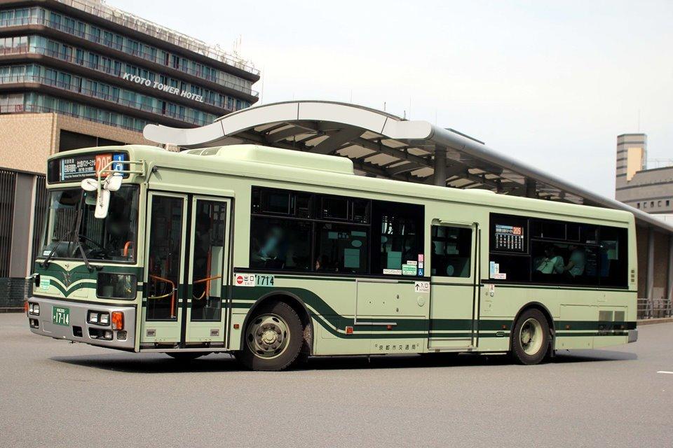 京都市交通局 か1714