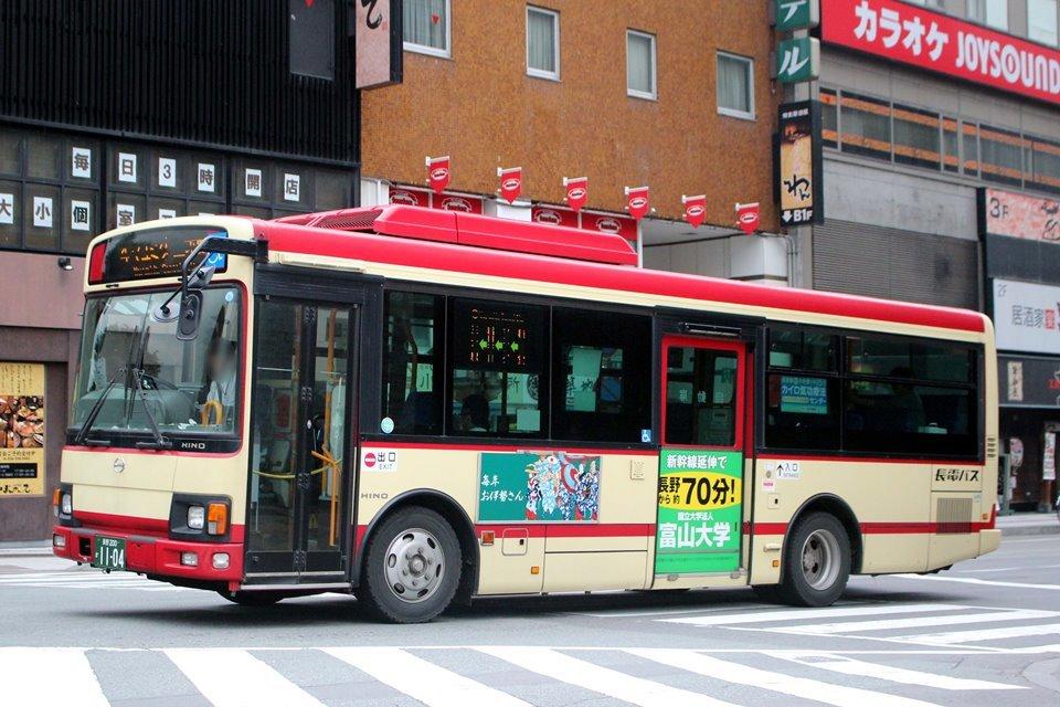 長電バス か1104