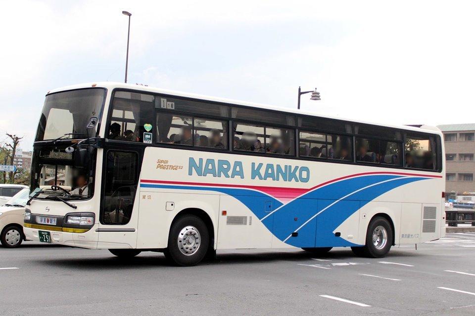 奈良観光バス か251