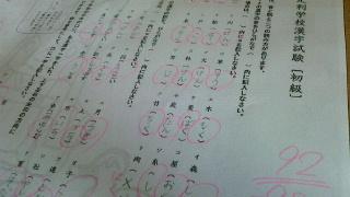 足利学校漢字試験問題
