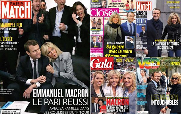 筆者が最近買った雑誌の表紙。フランス国内ではブリジットは大人気で数々の雑誌の表紙を飾っている