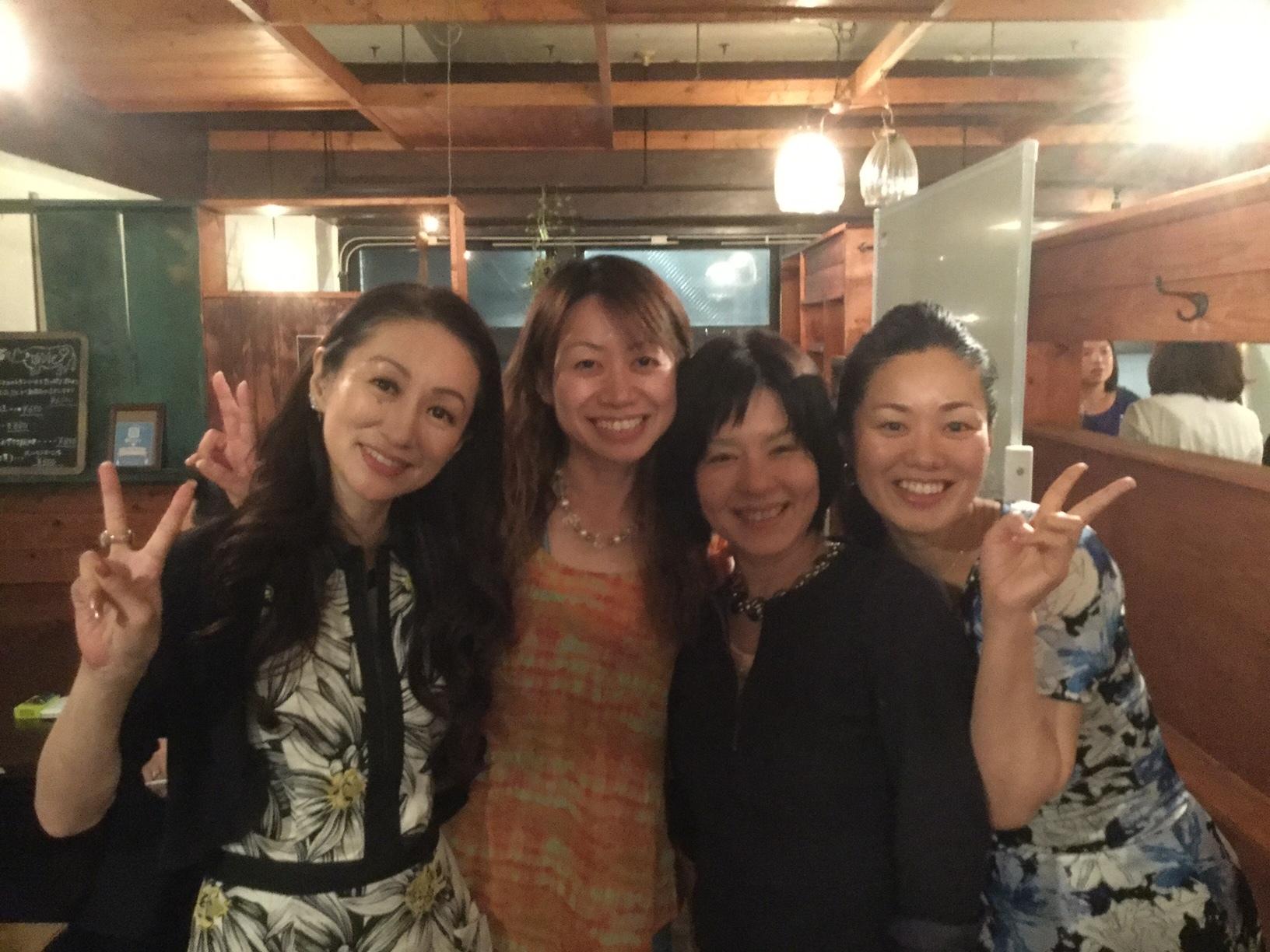 輝く女性の飲み会2017612