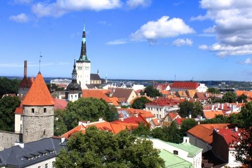 フリー写真 フィンランド タリン旧市街地(エストニア)