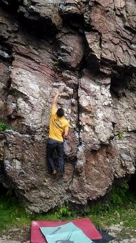 奥立岩 ランジ7a