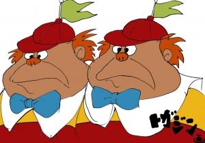vsモスラ ディズニーの双子