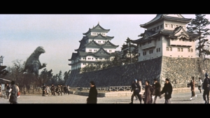 vsモスラ 名古屋城(旧作)