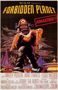 禁断の惑星 ポスター