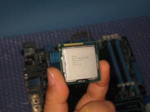 届いた仮CPU
