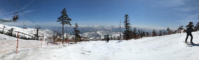 かぐらスキー場パノラマ