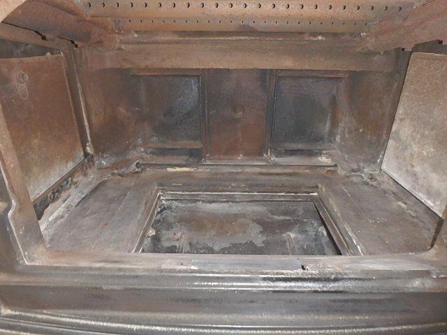 薪ストーブの掃除8