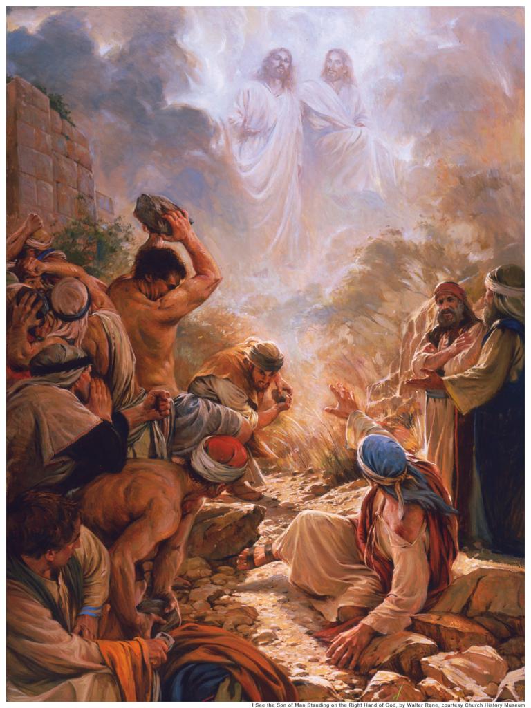 zz m異端者と迫害者 使徒時代の最初の殉教者 ステパノ
