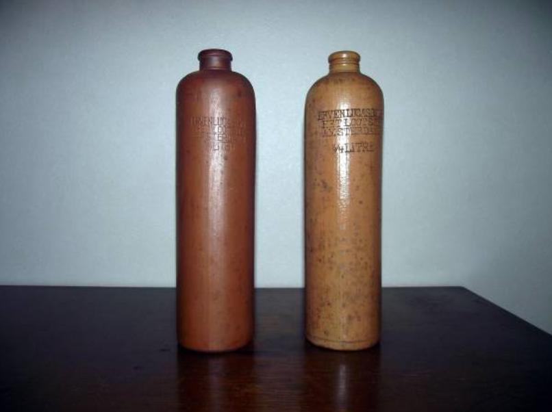zz zdジンボトル アンティーク BOLS (ジン)アムステルダム、オランダ1860~1890a-1