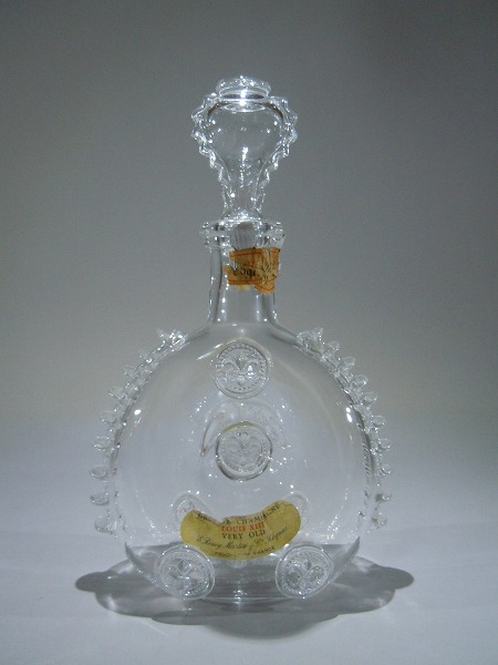 zz zr レミーマルタン ルイ13世の空瓶・バカラボトル