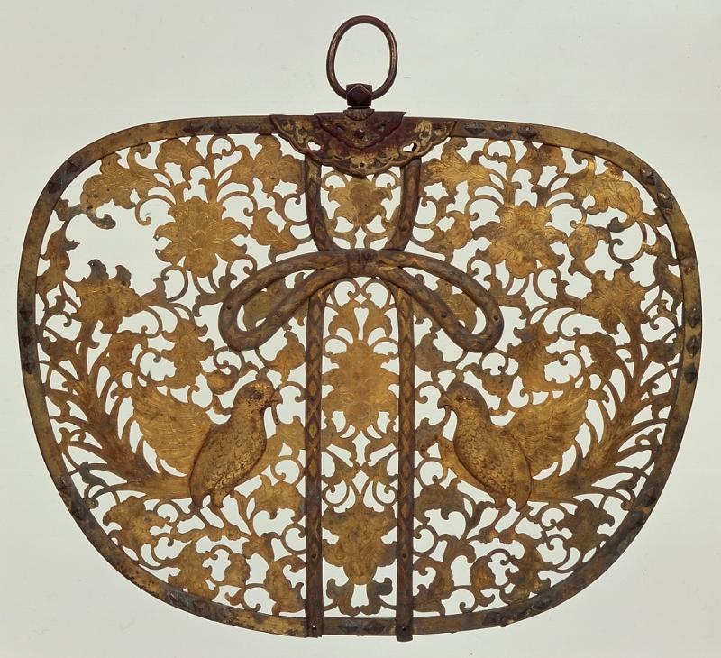 zzzz km 青銅製の華鬘a 13世紀