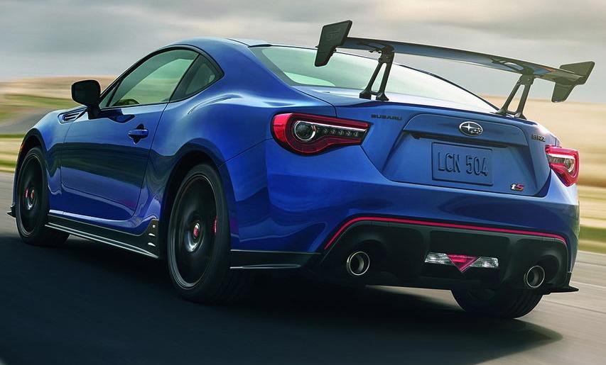 Subaru Reveals BRZ Ts