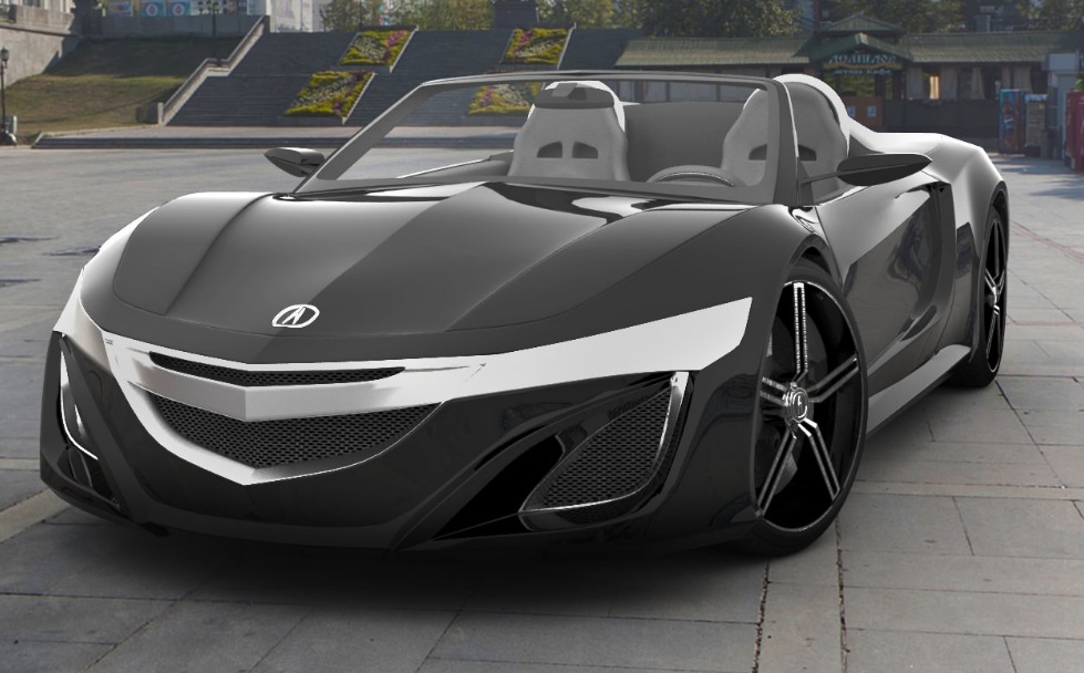Acura NSX Roadster concept 4
