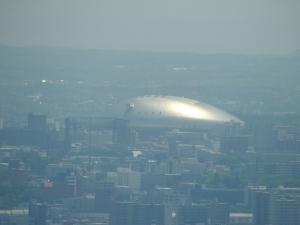 やはりでかい札幌ドーム。