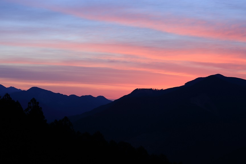 台高山脈、1